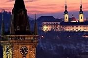 Туристы смогут полюбоваться панорамой вечерней Праги. // fotopraha.com