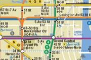 Фрагмент схемы нью-йоркского метро // mta.info