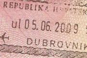Пограничный штамп Хорватии // Travel.ru