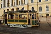 Трамвай был отреставрирован. // helsinki.ru