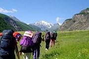 Туристы могут выбрать маршрут любой протяженности. // altai-guide.ru