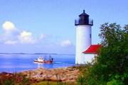 Одна из экскурсий посвящена маякам.  // halfmoonbaylodge.com