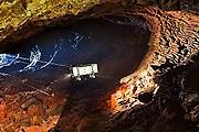 Спуск в кратер вулкана // Hans Strand