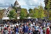 Праздник в Провене собирает множество туристов. // fete-moisson-provins.org