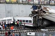 Страшная авария поезда в Испании // Reuters