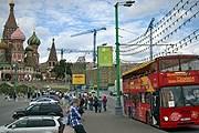 Открылась вторая линия City Sightseeing в Москве. // city-sightseeing.com