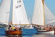 Яхты гостят в городе неделю. // hcyw.fi
