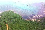 Нефтяное загрязнение у берегов Самета. // thailand-news.ru