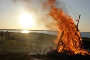 Балтийское побережье озарится огнями. // muinastuled.ee