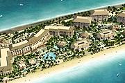 """Отель расположен на одном из """"листьев"""" острова-пальмы. // sofitel.com"""