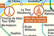 Приложение поможет туристам сориентироваться в Париже. // apple.com