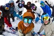 Фестиваль привлекает множество любителей лыж. // snowpasta.ru
