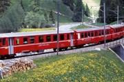 Поезд в Швейцарии // Railfaneurope.net