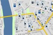 На карте отмечены важные для туристов места. // maps.navicom.ru