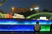 Фонтанный комплекс на площади Европы в Москве. // wikimedia.org