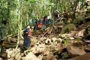 Тур включает посещение древнего карьера. // lanacion.com.py