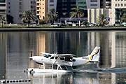 Во время полета можно осмотреть достопримечательности Дубая. // chatru.com