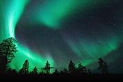 Небо Лапландии // theaurorazone.com