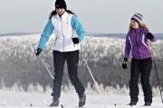 Лыжня доступна для бесплатного катания. // saariselka.fi