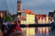 Исторический центр Висмара - в Списке Всемирного наследия ЮНЕСКО. // germany.travel