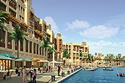 Новый вид набережной Дубайской бухты. // chatru.com