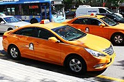 Сеульские такси // visitkorea.or.kr