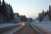 Зимой дороги Финляндии небезопасны. // kritzkom.free.fr