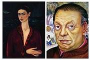 Автопортреты Кало и Риверы. // prepart.fr