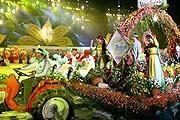 Цветочный парад во время фестиваля в Далате // lookatvietnam.com