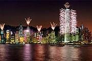 Над бухтой Виктория устроят масштабное световое шоу. // Hong Kong Tourism Board