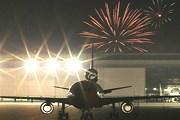 Тысячи пассажиров встретили Новый год в полете. // Airliners.net