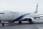 Boeing 737-900 EL AL в Домодедово // Travel.ru