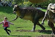 Посетители увидят динозавров в реальную величину. // AFP/Getty Images