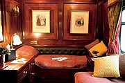 Купе в поезде The Royal Scotsman // luxuryscotland.co.uk