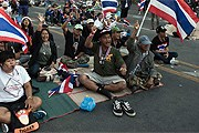 Протестующие в Бангкоке. // AFP