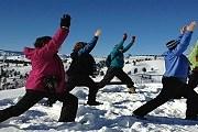 Туристы смогут позаниматься йогой в горнолыжном парке. // Yogachelan
