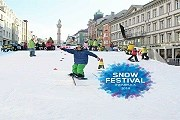 На главной площади Инсбрука установят снежную горку. // innsbruck.info