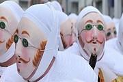 Жили - короли карнавала в Бенше. // Carnaval de Binche
