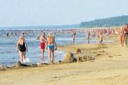 Нарва-Йыэсуу - популярный эстонский курорт. // Ирина Токарева