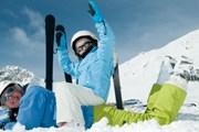 На лыжных курортах выпал снег. // iStockphoto