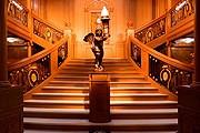 """Знаменитая лестница """"Титаника"""". // titanic-exhibition.ru"""