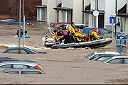 В Великобритании - серьезное наводнение. // PA