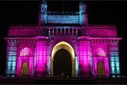 Достопримечательность Мумбаи стала арт-объектом. // Philips