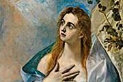 """Выставка включает работы из многих музеев мира. // Эль Греко. """"Мария Магдалина"""""""