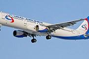 "Airbus 321 ""Уральских авиалиний"" // samolety.org"