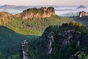 Туристы увидят живописные пейзажи с высоты. // ceskesvycarsko.cz