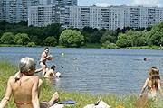 В Москве летом будут открыты 10 зон для купания. // all-pages.com