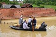 Балканы серьезно пострадали от наводнения. // theguardian.com