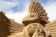 Из песка можно создавать удивительные объекты. // liberte.ru