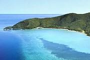 Отель расположен на одном из островов Большого Барьерного рифа. // oneandonlyresorts.com